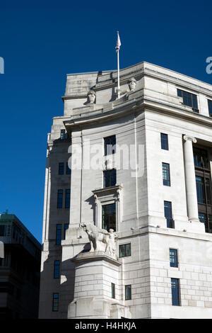 Unilever House, Victoria Embankment, London, UK - Stock Photo