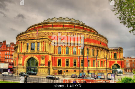 The Royal Albert Hall, an arts venue in London - Stock Photo