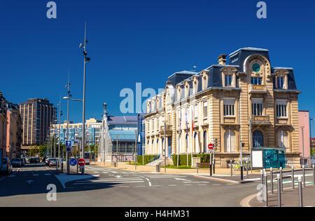Belfort france urban street city water river travel stock photo 50818540 alamy - Chambre du commerce belfort ...