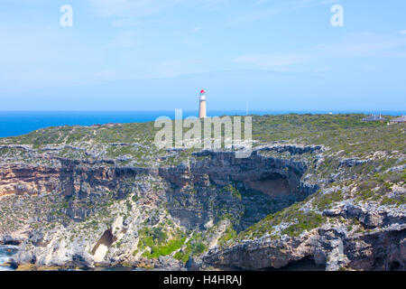 Cape du Couedic lighthouse in flinders chase national park on Kangaroo island,South australia - Stock Photo