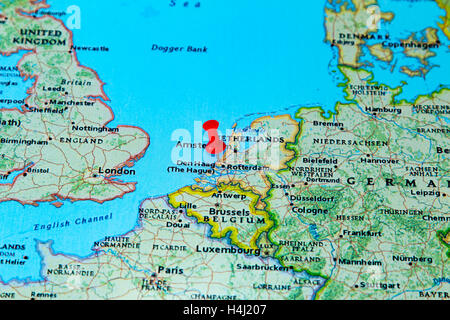 geography travel Netherlands Holland Den Haag castles water