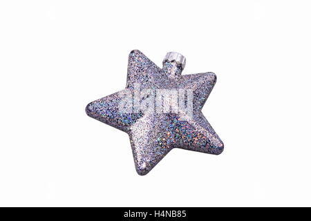 Christmas star isolated over a white background - Stock Photo
