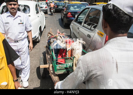 Dabbawalla. Tiffin lunch box system of food deliveries in MumbaiBombayMaharashtra  sc 1 st  Alamy & Dabbawalla. Tiffin lunch box system of food deliveries in Stock ... Aboutintivar.Com