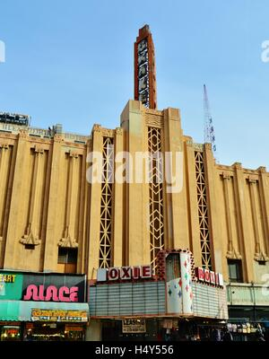 Roxie Theater,movie house,located on Broadway, downtown Los Angeles - Stock Photo