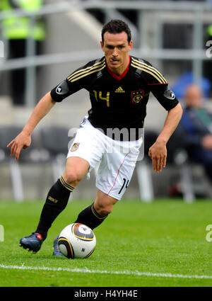 Piotr Trochowski, international football friendly match, Germany 3 Malta 0, Tivoli stadium, Aachen, North Rhine - Stock Photo