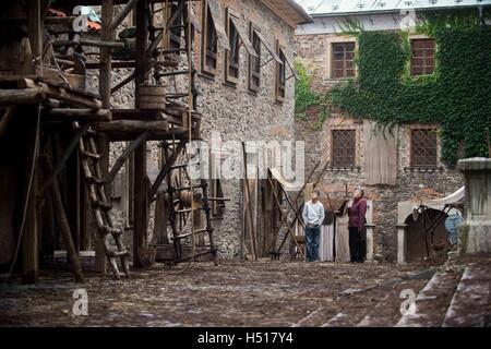 UFA Fiction and ZDF start working on movie 'Heaven and Hell - Martin Luther' (working title), marking 500 years - Stock Photo