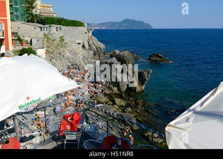Nervi Beach Near Genoa