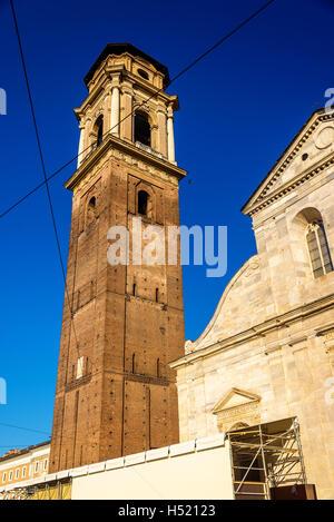 San Giovanni Battista church in Turin, Italy - Stock Photo