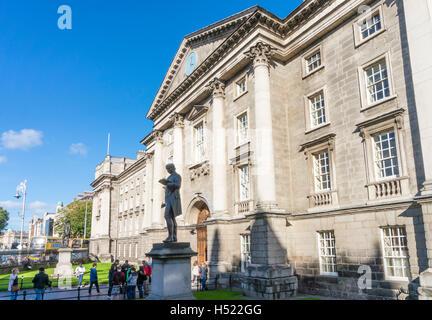Regent House Trinity College Dublin Ireland Europe EU - Stock Photo