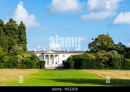 Deerfield Residence The American Ambassador's residence in Phoenix Park Dublin Ireland Europe EU - Stock Photo