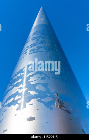 The Spire of Dublin or Monument of Light O'Connell Street Dublin Ireland Europe EU - Stock Photo