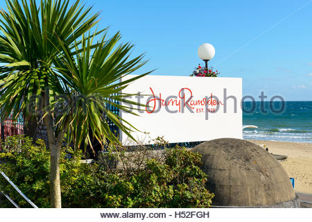 Sign for Harry Ramsdens, Bournemouth, Dorset, England, UK - Stock Photo