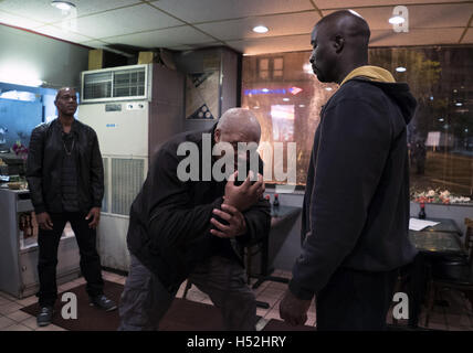 Marvel's Luke Cage, or simply Luke Cage, is an American web television series created for Netflix by Cheo Hodari - Stock Photo