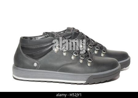 The photo shows the shoes on a white background - Stock Photo