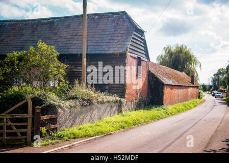 Old Brick Built Farm Buildings Thurgaton Nottinghamshire