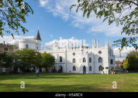 Strawberry Hill House, Strawberry Hill, Twickenham, London Borough of Richmond upon Thames, Greater London, England, - Stock Photo