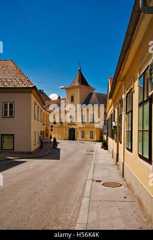 Buergerspital in Baden near Vienna, Lower Austria, Austria, Europe - Stock Photo