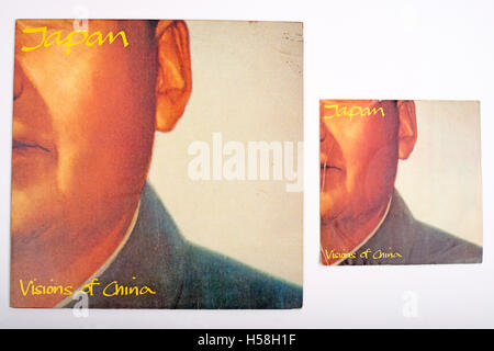 Japan Visions of China 12 and 7 inch singles - Stock Photo