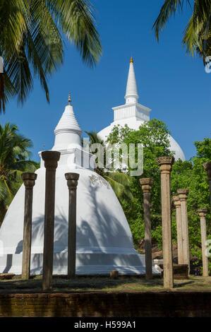 Ambasthale Dagoba, Mihintale temple, Anuradhapura, Sri Lanka - Stock Photo