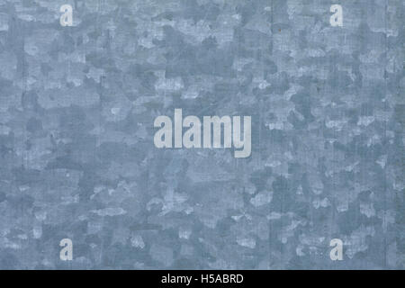 blue galvanized steel sheet or abstract rough pattern texture - Stock Photo