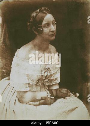 lleries 3102123921 Lady Elizabeth (Rigby) Eastlake, 1809 - 1893. Writer - Stock Photo