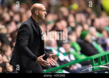 Celtic Park, Glasgow, Scotland. 19th Oct, 2016. Soccer: Champions League, group stage, group C, third match day, - Stock Photo