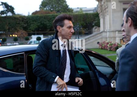 The Ministerial Meeting for the stabilization of Mosul, Irak, Thursday 20 October, Quai D'Orsay, Paris, ISIS, Daesh, - Stock Photo
