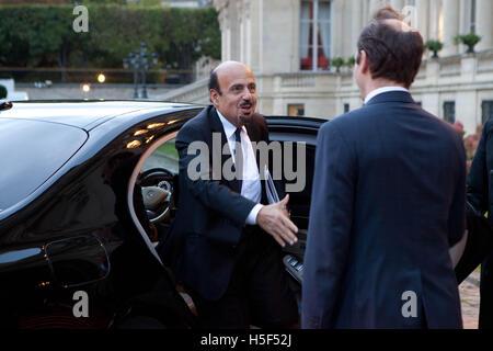 The Ministerial Meeting for the stabilization of Mosul, Irak, Thursday 20 October, Quai D'Orsay, Paris. Saudi arabia, - Stock Photo