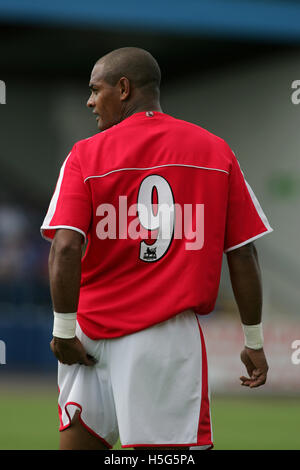 Grays Athletic vs Charlton Athletic - Friendly match at the New Rec - 06/08/05 - Grays enjoy a 3-1 victory in this - Stock Photo