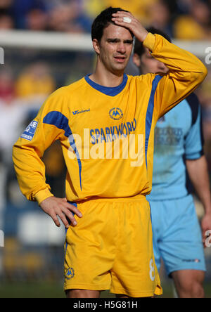 Tim Sills of Torquay - Grays Athletic vs Torquay United - Blue Square Premier at the New Rec - 01/03/08 - Stock Photo