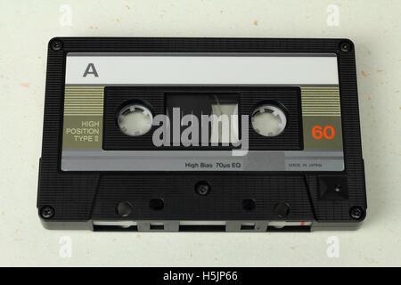 Compact Cassette C60 - Stock Photo