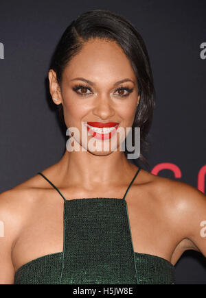 CYNTHIA ADDAI-ROBINSON  Anglo-American film actress in October 2016. Photo Jeffrey Mayer - Stock Photo