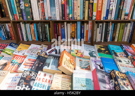 Secondhand books for sale. - Stock Photo