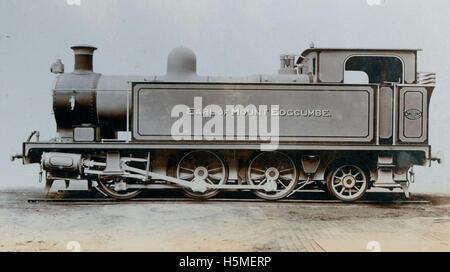 Side tank engine 'Earl of Mount Edgcumbe' - Stock Photo