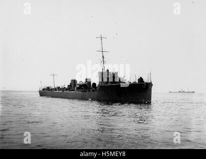 HMS Shark at sea - Stock Photo