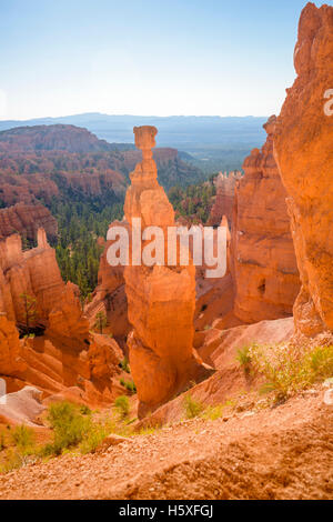 Thors Hammer, Bryce Canyon National Park, located Utah, in the Southwestern United States. - Stock Photo
