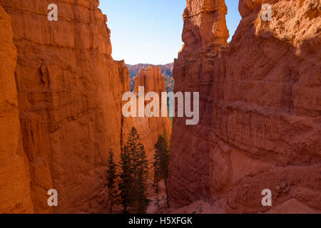 Scenic Views, Bryce Canyon National Park, located Utah, in the Southwestern United States. - Stock Photo