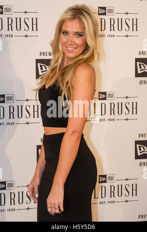 Kristine Leahy arrives on the red carpet at the Gold Rush presented by New Era Caps, San Francisco, California February - Stock Photo