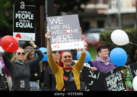 Sydney, Australia. 22 October 2016. The 'Walk Together' is an annual event, which is held in major cities across - Stock Photo