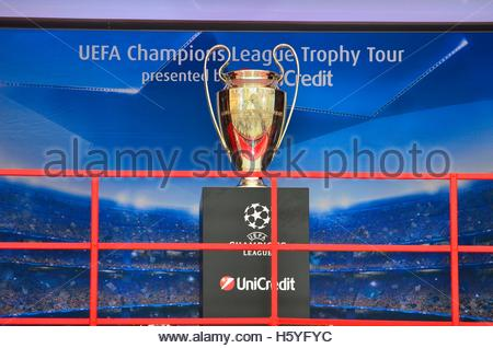 22nd Oct 2016 UEFA Champions League Trophy Tour At Ban