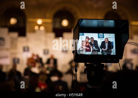 Prague, Czech Republic. 18th Oct, 2016. DALAI LAMA is visiting Prague, Czech Republic on October 17th and 18th, - Stock Photo