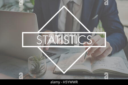 Statistics Record Planning Marketing Report Concept - Stock Photo
