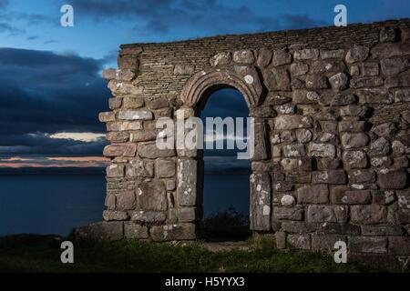 St Patrick's chapel, Heysham,Lancashire - Stock Photo