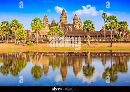 Angkor Wat, Cambodia. - Stock Photo