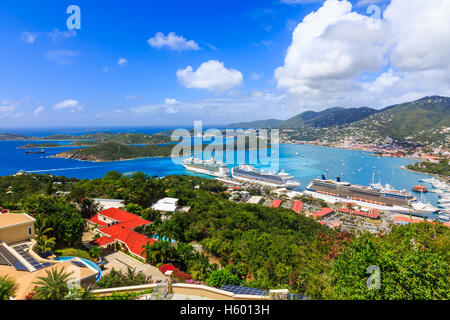 Caribbean, St Thomas. - Stock Photo