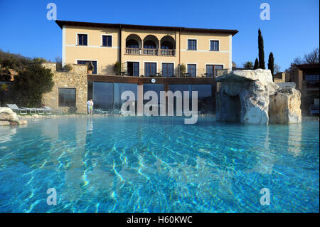 Hotel adler thermae spa relax resort bagno vignoni toscana stock photo 101307707 alamy - Adler bagno vignoni hotel ...
