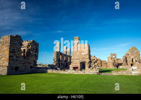 The ruins of The Earl's Palace in Birsay, Mainland Orkney, Scotland, UK - Stock Photo
