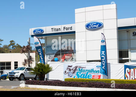 ... Titan Ford car dealership selling new and used vehicles cars in Brookvale suburb North of & New cars for sale at a Ford Dealership in Cornwall UK Stock Photo ... markmcfarlin.com