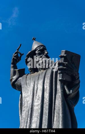 Statue of bishop Gregory of Nin in the Giardin Park by Ivan Mestrovic, Split, Croatia - Stock Photo