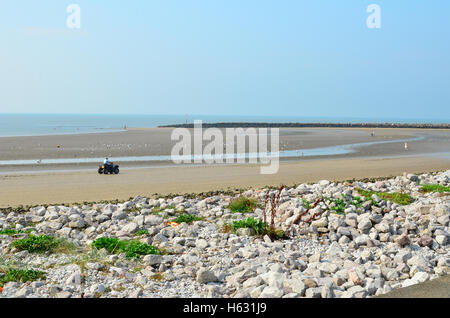 Llandudno Beach Wales UK - Stock Photo